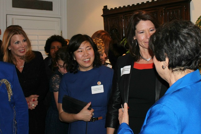 <p>Newly-elected Rep. Grace Meng said she was thrilled to be in D.C. for her first inauguration.</p>