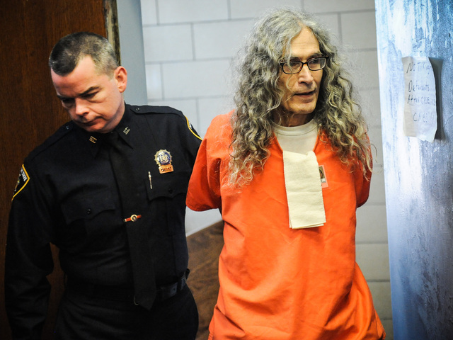 <p>Convicted serial killer Rodney Alcala is led into court for sentencing at the Manhattan Supreme Court on Jan. 7th, 2013.</p>