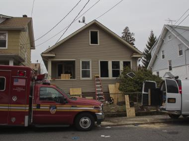 William Steiniger, 69, died when a fire broke out at 360 Demorest Ave. early Tuesday, officials said.