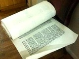 $30,000 Torah Stolen With Rabbi's Car Found