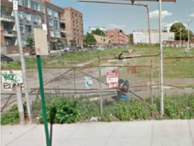 "The developer said the waterfront lot in Williamsburg can become a ""fun"" spot until construction begins."