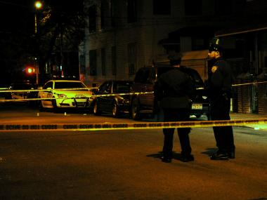A man was shot dead and a woman was hurt by gunfire on East 42nd Street near Clarkson Avenue Jan. 7, 2013, police said.
