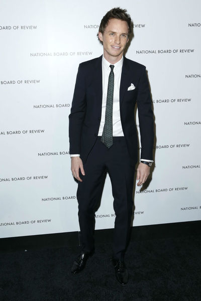 <p>Eddie Redmayne at the National Board of Review Awards at Cipriani 42nd Street, Tuesday, January 8, 2013.</p>