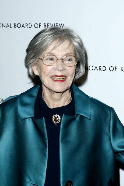 <p>Emanuelle Riva at the National Board of Review Awards at Cipriani 42nd Street, Tuesday, January 8, 2013.</p>