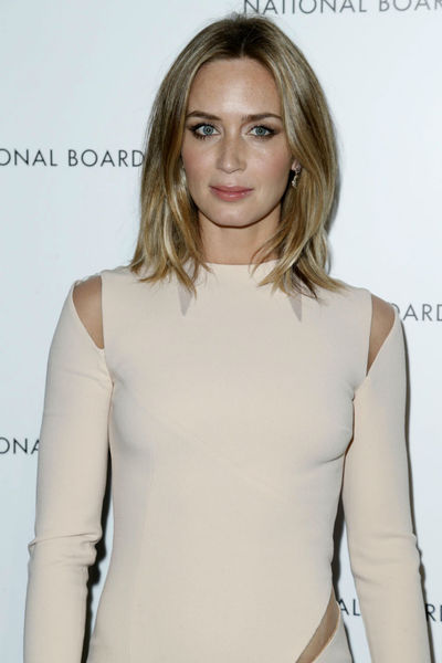 <p>Emily Blunt at the National Board of Review Awards at Cipriani 42nd Street, Tuesday, January 8, 2013.</p>