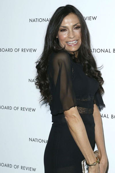 <p>Famke Janssen at the National Board of Review Awards at Cipriani 42nd Street, Tuesday, January 8, 2013.</p>