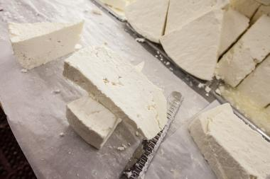Delicious feta cheese can be found in ovehwelming varities in Astoria, Queens.