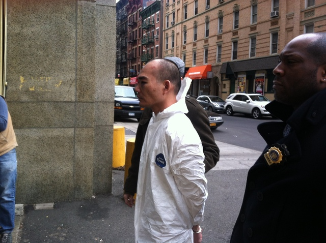 <p>Wei Chu Wu was charged with starting the Nolita fire that killed one person and injured nine Thursday Jan. 10, 2013.</p>