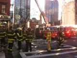 Fire Breaks Out at West 45th Street Building, FDNY Says