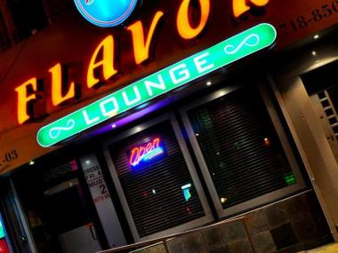 A photo of Flavor Lounge, from the club's Facebook page. On January 6, 2013, a Brooklyn man was shot outside of the club, the same night another man was slashed inside during a fight.