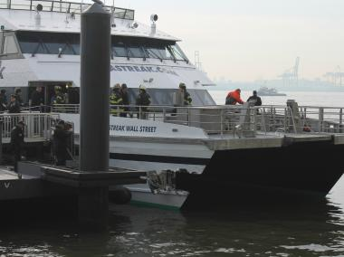 Fifty-seven people were hurt, two critically, when the Seastreak ferry crashed into Pier 11.