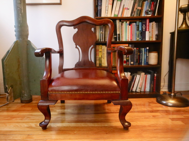 <p>After a proper restoration, this chair looks like a million bucks in Apartmentality columnist Elizabeth Wolff&#39;s apartment.</p>