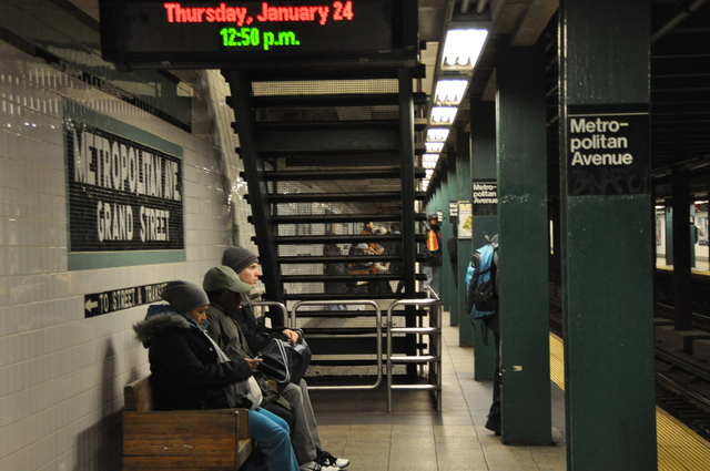 <p>Straphangers awaited the G train&#39;s arrival at Metropolitan Avenue. The cross-Brooklyn train will receive a full review, officials announced.</p>