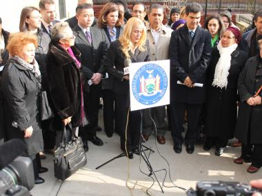 Assemblywoman Gabriela Rosa has said she will focus on the issue of domestic violence in northern Manhattan.