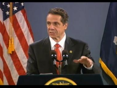Gov. Andrew Cuomo gave his 2013 State of the State address on Jan. 9, 2013 in Albany.