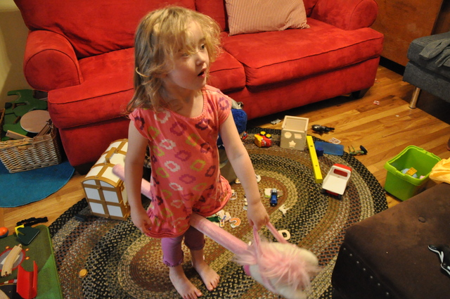 <p>Emilia, 3, is Jessica Glorieux&#39;s oldest child, and she helped motivate Glorieux to co-found the Brooklyn mom group Brooklyn Bambinos.</p>
