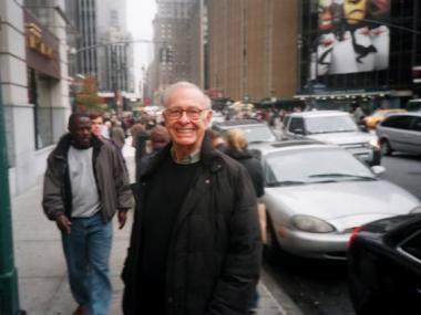 The longtime chairman of CB1's arts and entertainment task force, Harold Reed, died at 75.