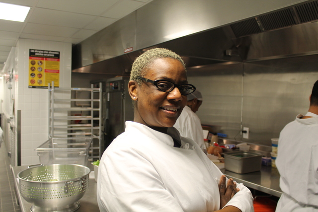 <p>Harvist Executive Chef Cassandra Quinlan-Ashford said the restaurant pays homage to some of the foods she ate in Harlem as a child.</p>