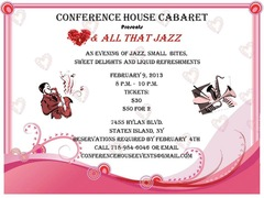 Conference House Cabaret presents Hearts and All That Jazz