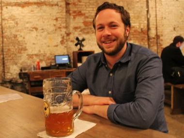 The 5,000-square foot bar, Houston Hall, opened Jan. 4, 2013 on West Houston Street near Seventh Avenue South.