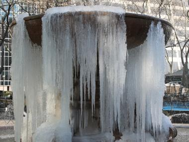 Low temperatures and an icy wind chill will continue throughout the city this week.