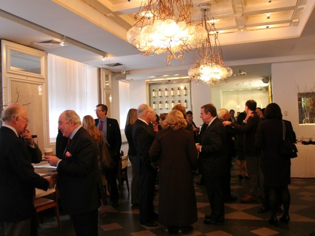 <p>The crowd gathered at the Inaugural Loews Regency Power Breakfast Event at the Park Avenue Winter on Jan. 9, 2013.</p>
