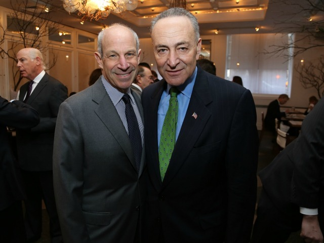 <p>Sen. Chuck Schumer attended the event.</p>