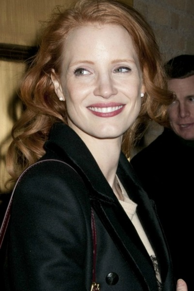 <p>Jessica Chastain, in a Michael Kors coat, leaving the Walter Kerr Theater after her performance of &quot;The Heiress,&quot; Sunday, January 6, 2013.</p>