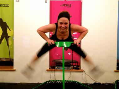 JumpLife is TriBeCa's only gym solely dedicated to bouncing your way to good health.