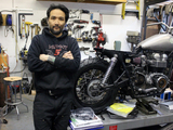Hot, Fast and Loud: Motorcyclists Roar to Red Hook's Custom-Ride Mecca