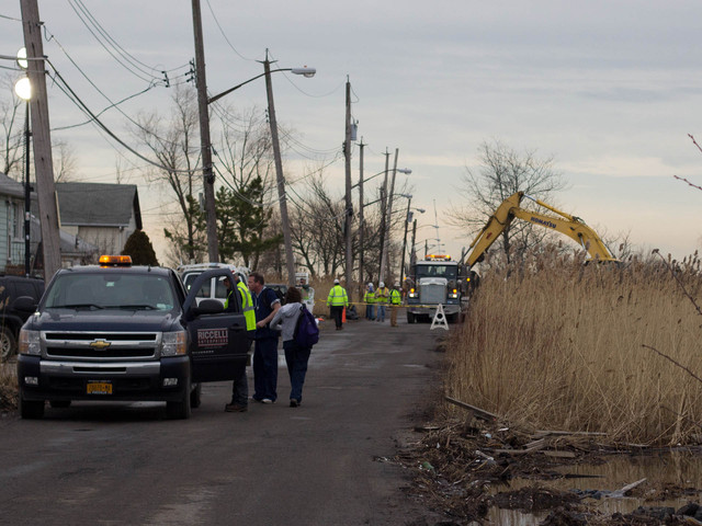 <p>The city demolished several homes in Staten Island on Monday, Jan, 14. 2013 that were damaged by Superstorm Sandy, including some on Kissam Avenue. These was the first batch of homes demolished by the city since the storm.</p>