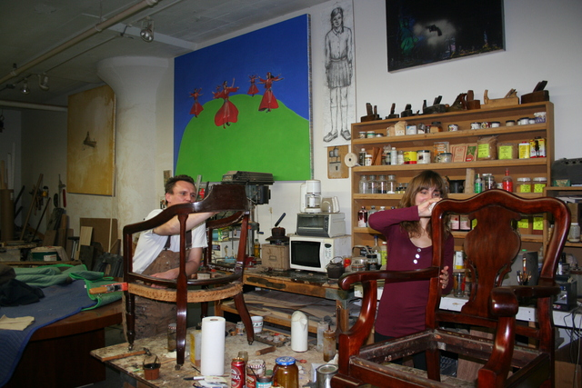 <p>Fine Furniture Restoration and Conservation in Long Island City shows Apartmentality columnist Elizabeth Wolff how to refinish one of her first antique finds.</p>