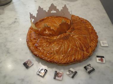 Two French bakeries across the street from one another on Third Avenue are selling galette des Rois, known in English as King's Cake, for epiphany.