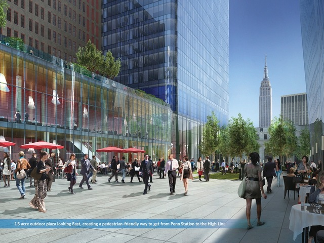 <p>Manhattan West will have 1.5 acres of public space.</p>