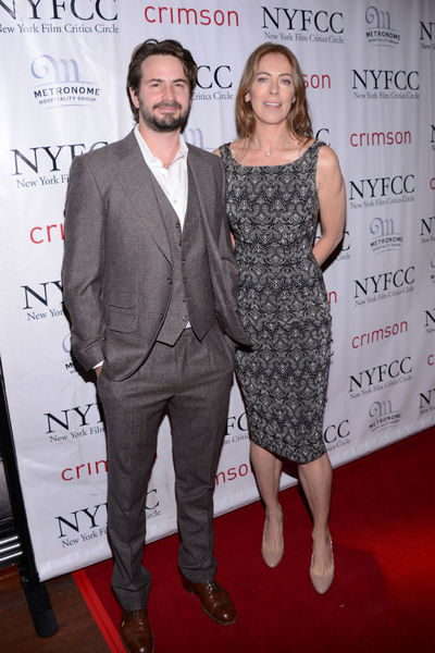 <p>Mark Boal and Kathryn Bigelow at the New York Film Critics Circle Awards at the Crimson Club, Monday, January 7, 2012.</p>