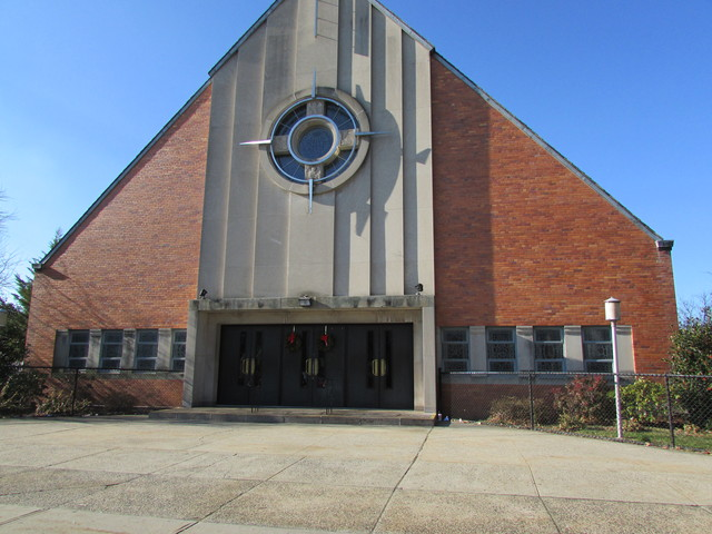 <p>Our Lady of Fatima Church in East Elmhurst, where the funeral for 11-year-old Miguel Torres was held.</p>