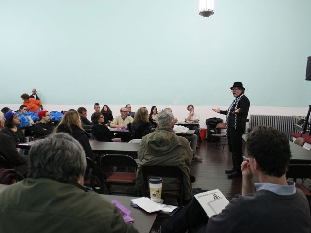 <p>About 40 people turned up to a &quot;No 7-Eleven&quot; meeting to discuses tactics to oppose the chain store in the East Village.</p>