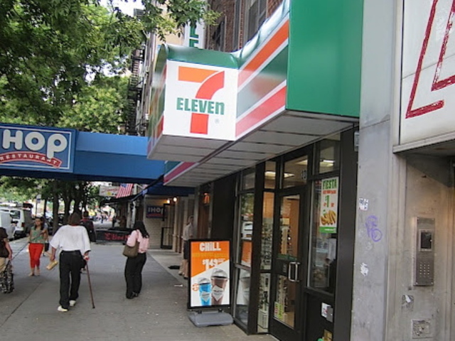 <p>A 7-Eleven store recently opened on East 14th Street in the East Village.</p>