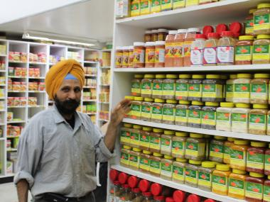 Ethnic stores in Queens offer a variety of authentic spices and ingredients from around the world.