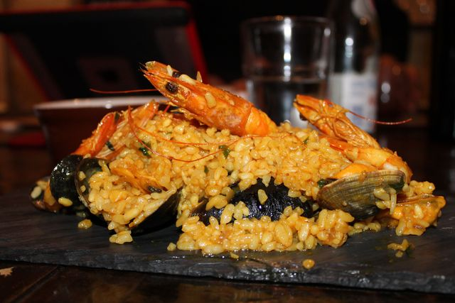 <p>The seafood risotto is the most popular dish at the Upper West Side eatery.</p>