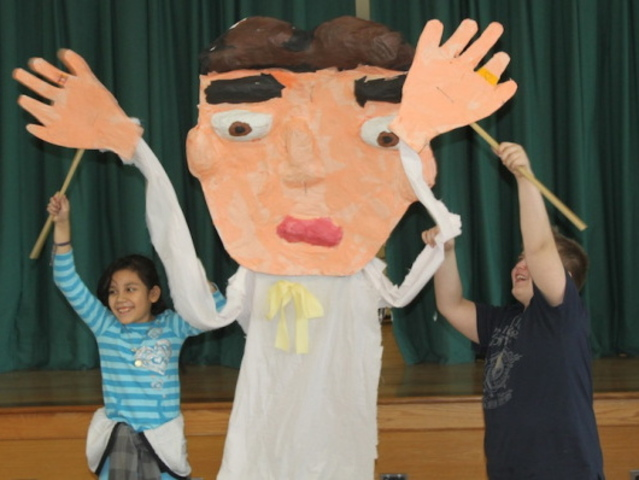 <p>Arts programming is a strong component at Brooklyn&#39;s P.S. 130, which draws students from Windsor Terrace and Kensington.</p>