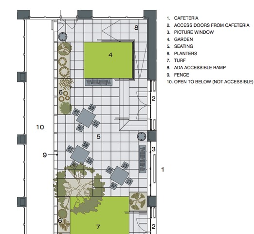 <p>Plans for the almost 1,100-square-foot space.</p>
