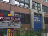 <p>Muscota New School and Amistad Dual Langauge School are housed in the same building at 4862 Broadway.</p>