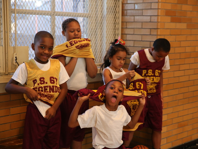 <p>P.S. 67 has an after-school basketball team called Legends.</p>