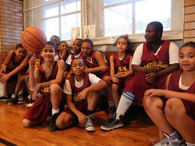<p>Legends, P.S. 67&#39;s after-school basketball team.</p>