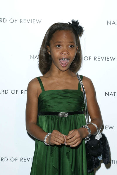 <p>Quvenzhane Wallis at the National Board of Review Awards at Cipriani 42nd Street, Tuesday, January 8, 2013.</p>