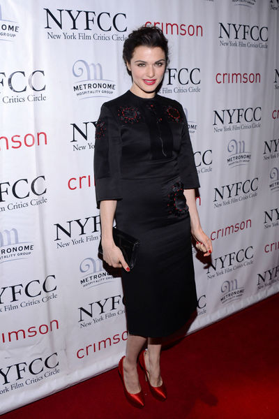 <p>Rachel Weisz at the New York Film Critics Circle Awards at the Crimson Club, Monday, January 7, 2012.</p>