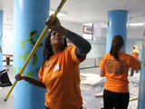 Volunteers Clean Up Sandy-Damaged Red Hook Rec Center on MLK Jr. Day
