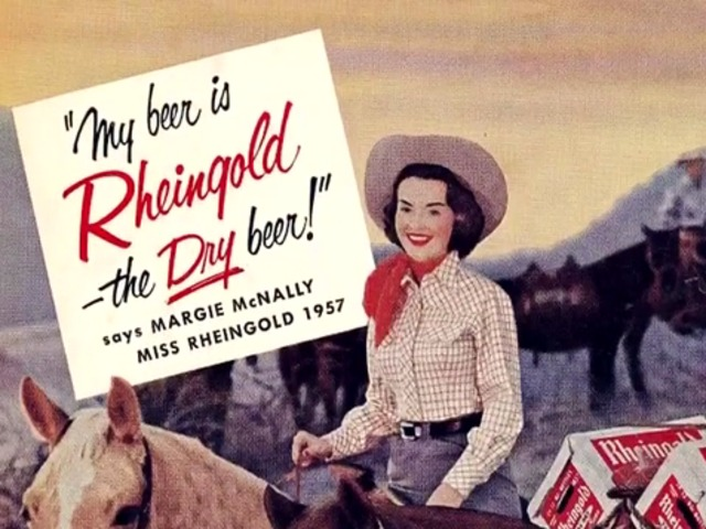 <p>Rheingold Beer&#39;s annual beauty pageant invited New Yorkers to vote for the woman they wanted on their beer can 1946-1964, John Weber said.</p>