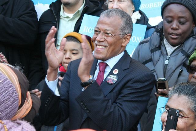 <p>City Councilman Robert Jackson officially launched his campaign for Manhattan Borough President on Jan. 27, 2013.</p>